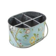Decal Vintage Flowers Ice Bucket Tub