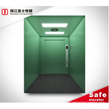 Manufacturers 5000KG Elevator Lift China Goods Elevators Stainless Steel Zhujiang Fuji With\without Machine Room Warehouse AC