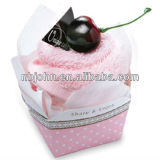 CAKE SHAPE TOWEL