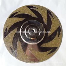 nouveau disque de meulage de diamant de style pour la pierre