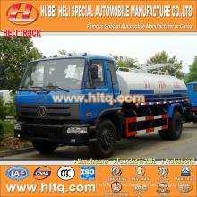 DONGFENG 4x2 10000L Dung Transportwagen 190hp Cummins Motor