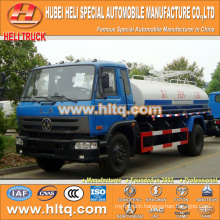 DONGFENG 4x2 10000L dung transport truck 190hp cummins engine