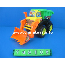 Venda quente de plástico brinquedo sentir roda de construção do carro (749.105)