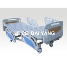 A-75 Móvil de doble función cama de hospital manual