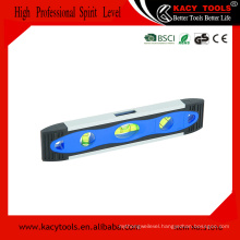 "9"" Magnetic torpedo level ,tubular spirit level bubble"
