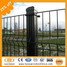 Cheap! hot sale!Dark green pvc coated welded mesh fence