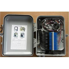 24 Cores FTTH Caja de distribución de fibra óptica - Tipo de adaptador