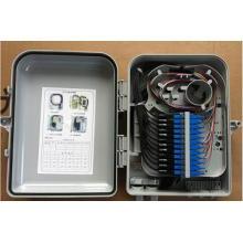 24 cœurs FTTH boîte de distribution en fibre optique - type d'adaptateur