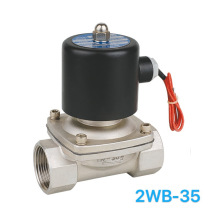 2WB-35 Stainless Steel Electric Control Water Acid Solenoid Valve