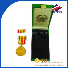 Médaille d'honneur de grande qualité personnalisée médaille d'honneur avec boîtes