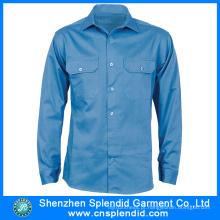 Uniforme 100% de trabalho do motorista do algodão dos homens do vestuário de Guangdong