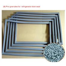 Grânulos de PVC para vedação de porta de refrigeradores