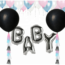 Baby shower ideas gender revelan globo fiesta
