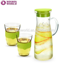 Tableware Family Drinking Handblown Clear Glass Measuring Jug