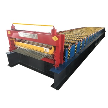 Corrugated Profile Metal Roof Tile Machine