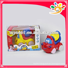Newest Plastic B/O Cartoon Car Bump & Go Cartoon Car With Music And Light