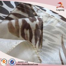 China fábrica por atacado digital impresso lenço de seda turca