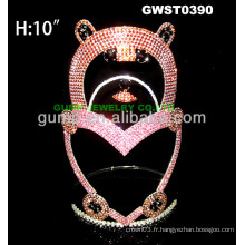 Grande couronne de tiare d'ours -GWST0390