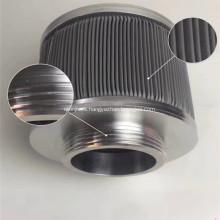 Elementos de filtro de acero inoxidable 316 10 '' 30 '' 40 ''