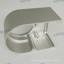 Peça de usinagem de alumínio
