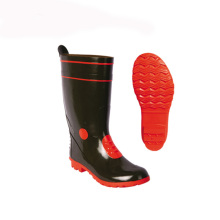Personalizado Rubber Cowboy Men Farmer Safety Rain Boots