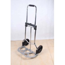 Foldable metal luggage cart