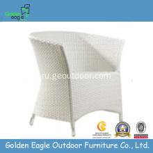 Outdoor Artificial Furniture White Wicker Chair