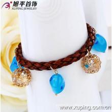Xuping 18k Золото Цвет Мода Браслет (73404)