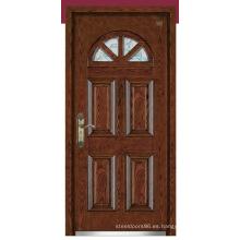 Puerta de acero blindada de Italia puerta del dormitorio proveedor de China (D4010)