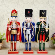 Hölzerne Nussknacker Ornamente für den Großhandel