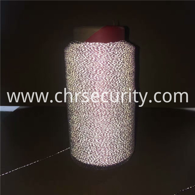 0.3mmorange embroidery reflective thread night