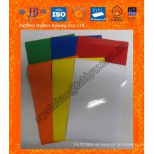 Geruchsfreies 6P ungiftiges PVC-beschichtetes Gewebe