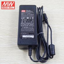 Original médio bem tipo de desktop 40 W adaptador 18vdc saída UL CE CB meanwell GSM40B18-P1J