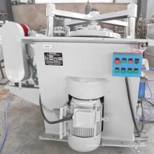 Máquina de pré-ondulação e colagem para produção de tambores de aço