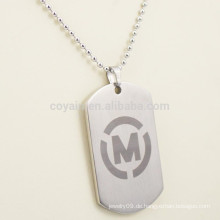 Kundenspezifische Metallmann-Umbau-Halskette mit Ihrem eigenen Logo