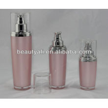 30ml 50ml 100ml luxurious oval acrylic lotion bottle