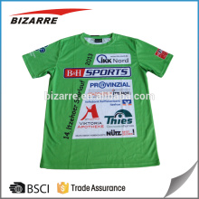 Customized sublimation running events merchandise shirts