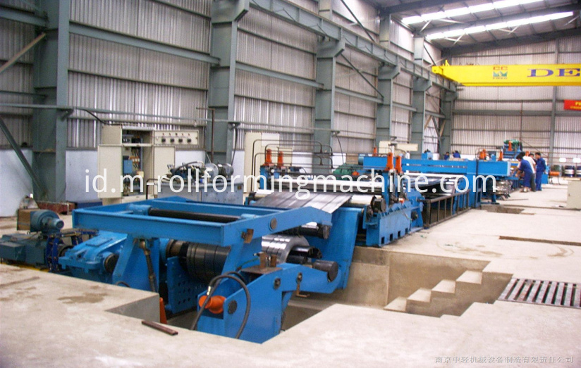4×1550 mm steel slitter machine slitting line