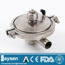 Válvula de ajuste de regulación de presión constante sanitaria ISO
