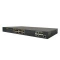 L2 10 / 100M 16 Portas POE Switch