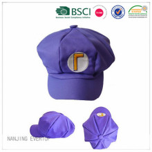 Children Novelty Embroidery Octagonal Cap