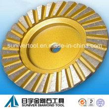 Turbo сегмент круги алмазные гибкие шлифовальные чашки для гранита
