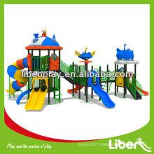 Équipement de jeux pour enfants Équipement de jeux en plastique