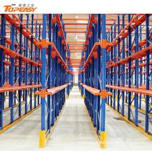 rack de palete para transporte de produtos pesados em metal