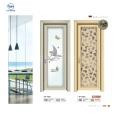 Aluminium Bathroom Glass Flush Door Price Design With Glass