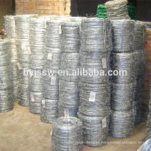 Diseño de valla de alambre de púas