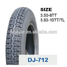 wholesale high quality tubeless motorcycle tires 3.50-8