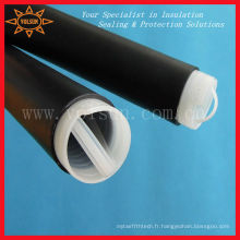 Tuyauterie en caoutchouc froide de rétrécissement d'EPDM pour des câbles coaxiaux / coaxiaux