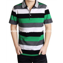Fashion Man Contrast Color Polo T-shirt