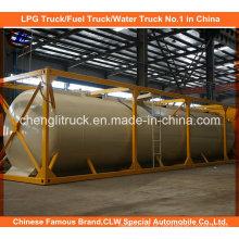 Fábrica Venda 60000liters Container tanque de GLP para propano